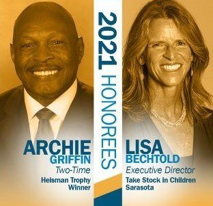 Archie Griffin and Lisa Bechtold pics