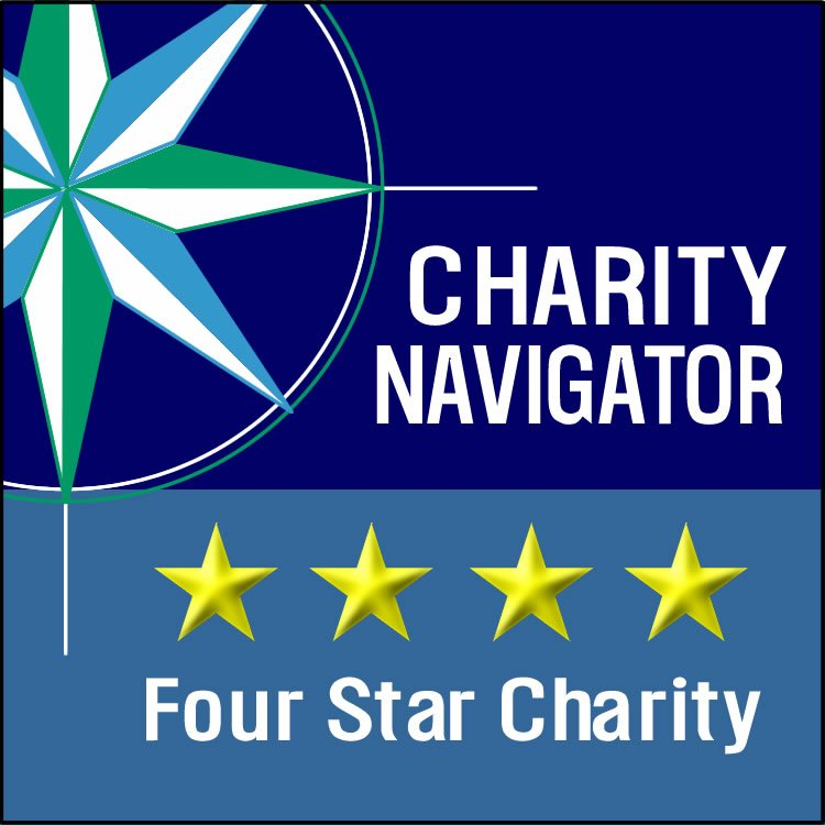 4-Star Rating from Charity Navigator Poster