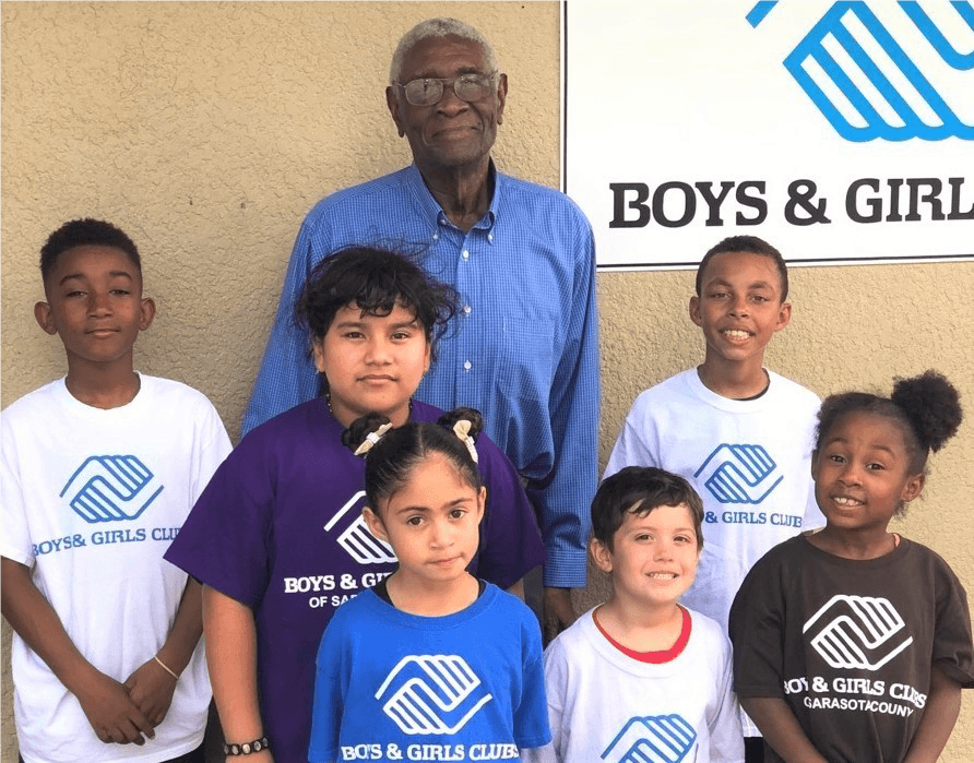 Richard Bowers and children